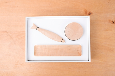 Wooden Stationery Gift Box